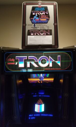 Top Holiday Gifts TRON tournament standup cutout with entry pad -  EXTREMELY RARE - PA EXCLUSIVE!