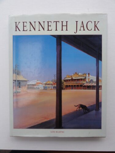 KENNETH JACK BY LOU KLEPAC  SIGNED BY KENNETH JACK 1988 1ST EDITION