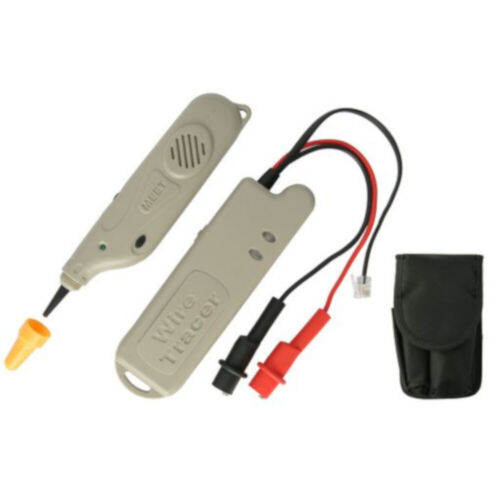 RJ11 plug 9V Radio type battery Wire Tracer /Tone Generator Includes Transmitter
