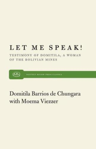 Let Me Speak by Moema Viezzer (English) Paperback Book Free Shipping!