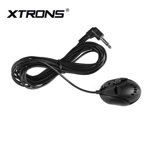 External MIC Microphone for Car Head Units / PC's DVD Stereo Player 3.5mm Black