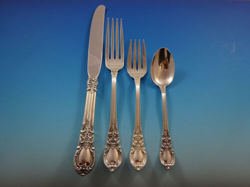 American Victorian by Lunt Sterling Silver Regular Size Place Setting(s) 4pc