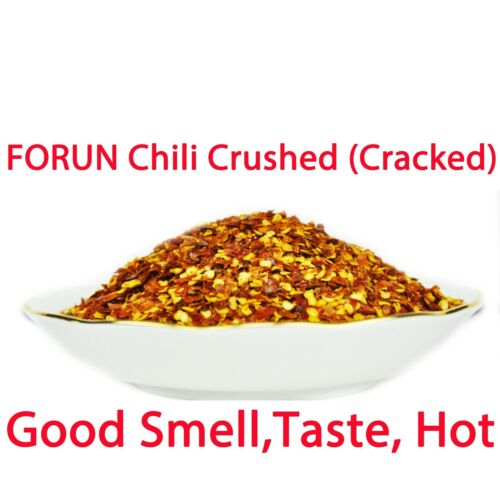 FORUN Chili Crushed 1KG (200G*5Bags) - RED HOT WILD MOUNTAIN CHILI