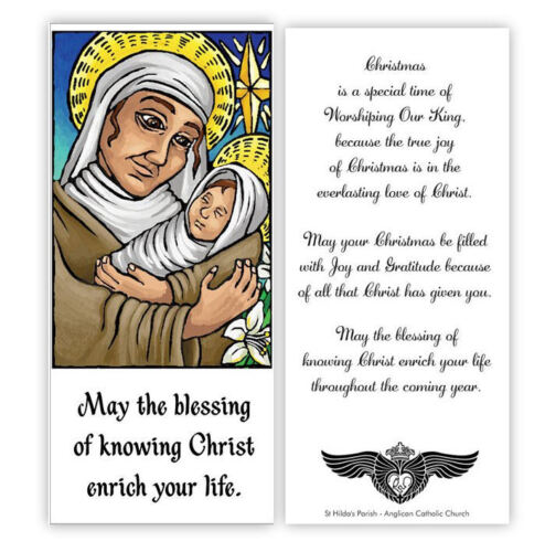 © ART Exclusive Religious Christian jesus and Mary Christmas Greeting Card