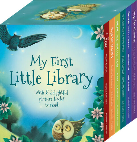 NEW Hinkler Bonney Press My First Little Library 6 Picture Books Collection Set!
