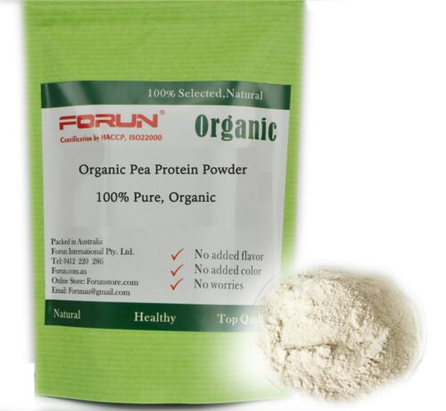 FORUN 100% Organic Pure Pea Protein Isolate Powder 100G- Aussie Top Rated Seller