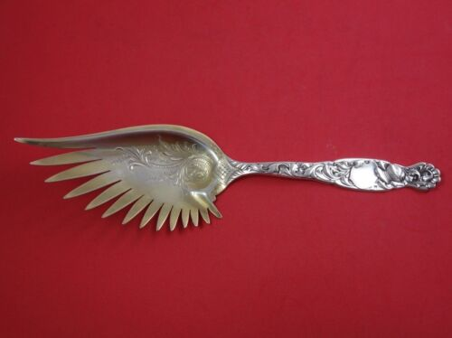 Heraldic by Whiting Sterling Silver Macaroni Server GW Wing Shaped Blade 10 1/4""