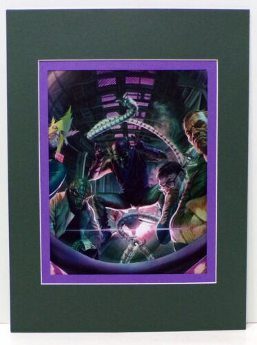 TROUBLE For SPIDER-MAN PRINT PROFESSIONALLY MATTED Alex Ross art Goblin Sandman