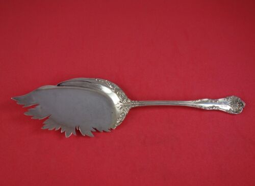 "Chatelaine by Lunt Sterling Silver Fried Oyster Server 8 3/8"" Antique"