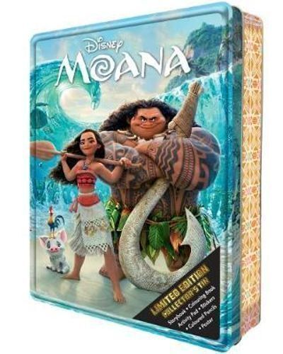 NEW Disney Moana Kids Limited Edition Collector's Tin Activity Book & Gift Set!