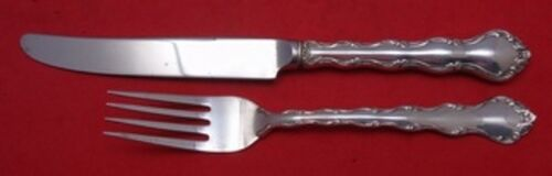 """Tara by Reed and Barton Sterling Silver Junior Set 2pc Knife 7 3/4"""" Fork 6 1/8"""""""