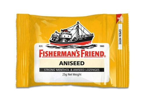 Fishermans Friend - Strong Menthol and Aniseed (12 x 25g bags)