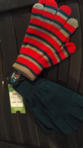 NWT Childrens 2 Pack of Gloves One Size