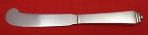 """Pyramid by Georg Jensen Sterling Silver Butter Spreader #046 HH AS 5 5/8"""""""