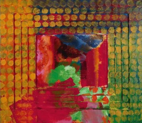 HOWARD HODGKIN 'Absent Friends', 2018 SOLD-OUT UK Museum Exhibition Poster *NEW*