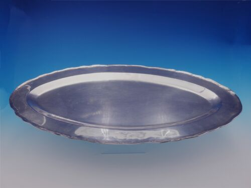 Colonial by Camusso Peruvian Sterling Silver Fish Serving Platter 50.5ozt #3186