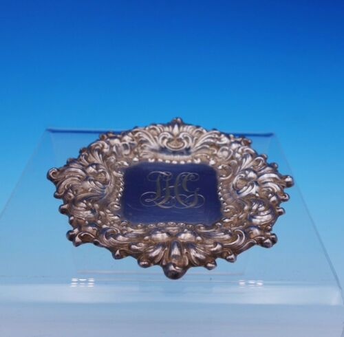 """Douvaine by Unger Sterling Silver Butter Pat 3 3/8"""" x 1/8"""" (#3203)"""