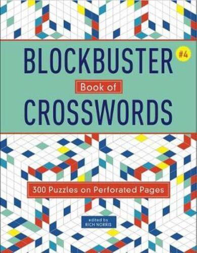 Blockbuster Book Of Crosswords 4 (English) Paperback Book Free Shipping!