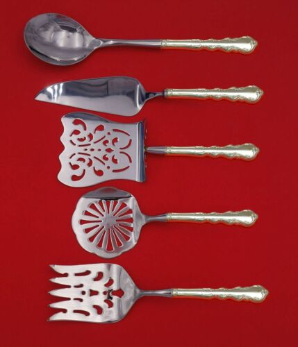 Angelique by International Sterling Silver Brunch Serving Set 5pc Custom Made