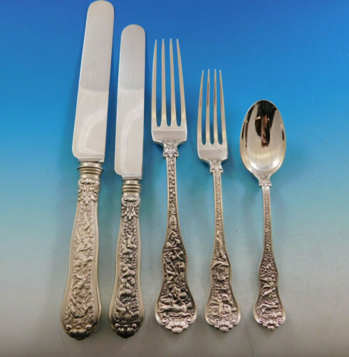 Olympian by Tiffany & Co Sterling Silver Flatware Service for 8 Set 40 pc Dinner