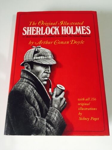 The Original Illustrated Sherlock Holmes Conan Doyle HC 1981