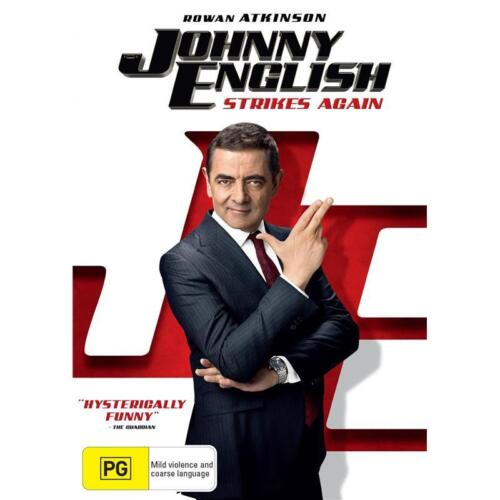 Johnny English Strikes Again (DVD, 2018)