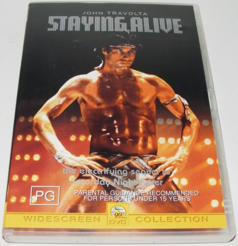 STAYING ALIVE--- (DVD, 2002)