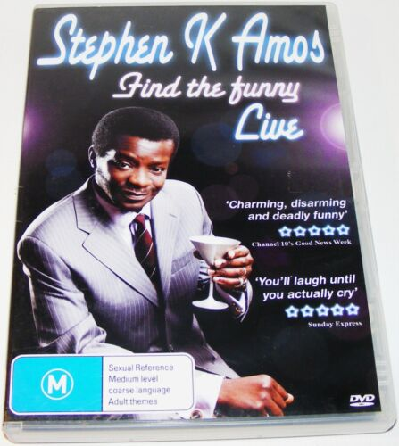 Stephen K Amos Live - Find The Funny--- (DVD, 2009)