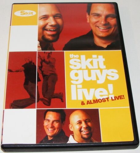 THE SKIT GUYS LIVE! & ALMOST LIVE!--- (DVD, 2006)