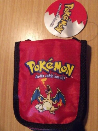 Pokemon CHARIZARD RED Gameboy Pocket Carry Case - BRAND NEW with TAGS - Free P&H