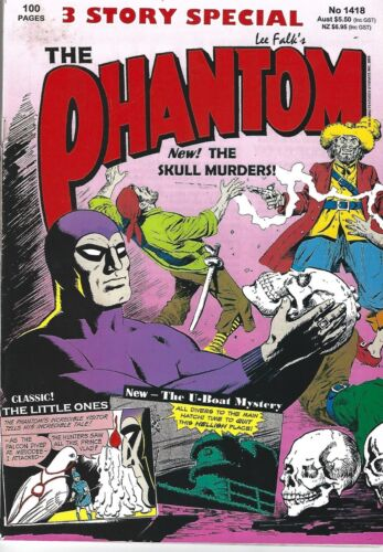 Frew Phantom Comic No 1418, 100 PAGE 2005 SPECIAL - CHEAP ONLY $5.99 - 3 STORIES