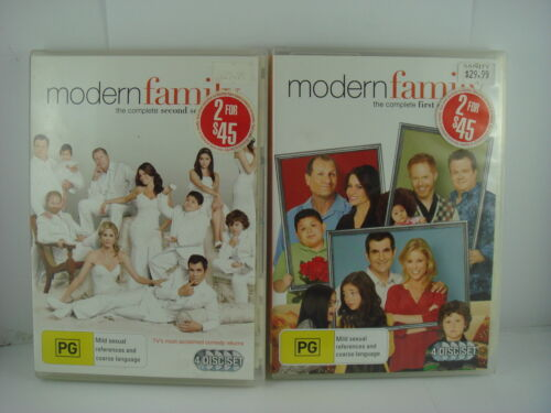 Modern Family: Season One and Two - DVD TV Show ( 1 & 2 )