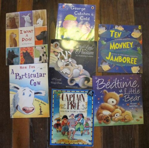 Children's BOOKS X 7 Bulk All in very good used condition FREE POST Gift Present