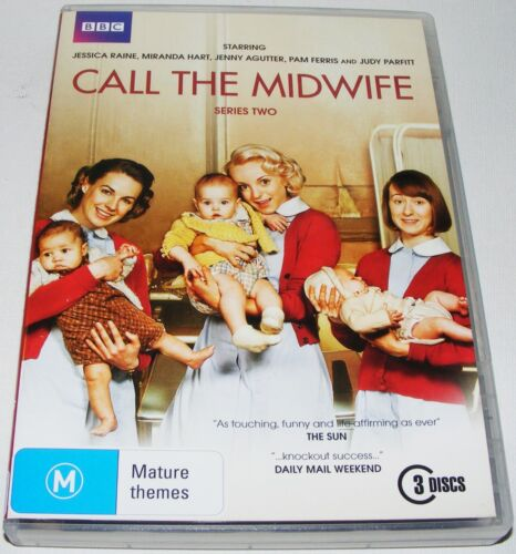 Call The Midwife : Series 2--- (DVD, 2013, 3-Disc Set)