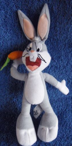 *1817b*  Looney Tunes - Bugs Bunny with a carrot - plush - 23cm