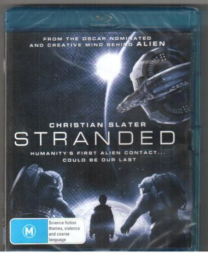 BLU-RAY STRANDED New & Sealed Christian Slater Region B