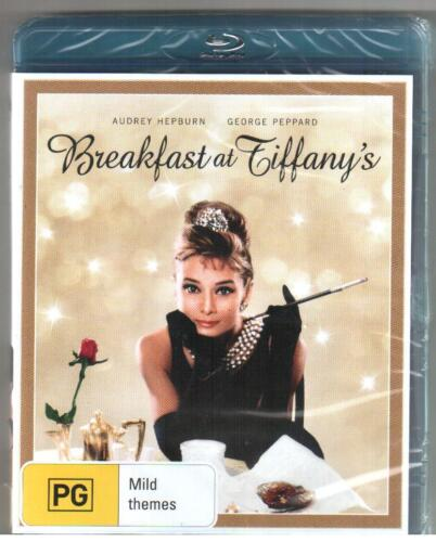 BLU-RAY BREAKFAST AT TIFFANY'S Audrey Hepburn George Peppard Special Features