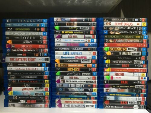 Blu Ray Movies Lot 1 Please Choose From The Drop Down Screen