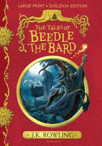 Tales of Beedle the Bard: Large Print Dyslexia Edition by J.K. Rowling Hardcover