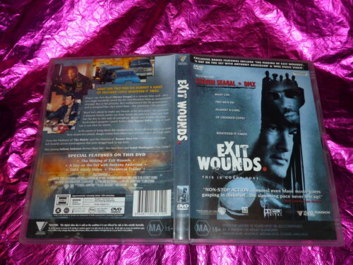 EXIT WOUNDS (DVD, MA 15+)