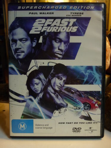 2 FAST 2 FURIOUS: SUPERCHARGED EDITION (DVD, M)