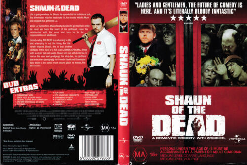 Shaun Of The Dead (DVD, 2005) Region 2 and 4 PAL