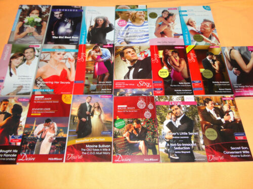 19 Mills and Boon Books - BULK - ( MIXED - 31 STORIES)******
