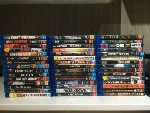 Blu Ray Movies Lot 2 Please Choose From The Drop Down Screen