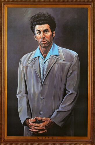 """""""COSMO KRAMER""""  Print on Glossy Paper or Canvas"""