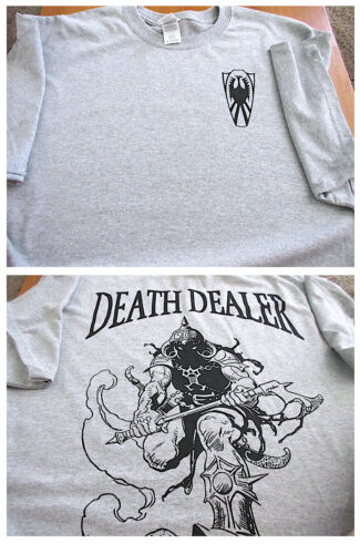 DEATH DEALER Warrior Silk-Screened T-SHIRT XLOther Militaria - 135