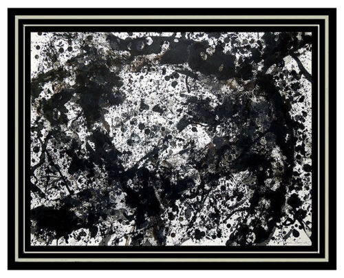 Sam Francis Color Lithograph SF.189 Authentic Original SIGNED Abstract Artwork