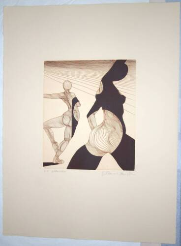 """Guillaume Azoulay's Limited Edition S/N Etching """"Silhouettes"""""""