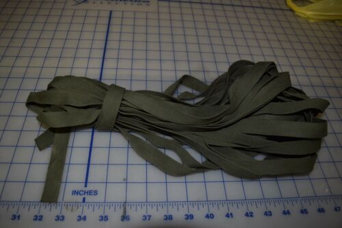 """3/4 """" wide Cotton OD-7 tape textile sewing class 3 Military webbing 50 feetOther Military Surplus - 588"""
