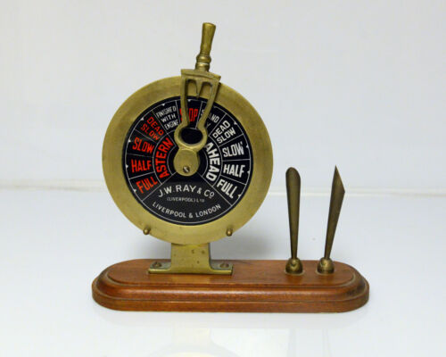 Ship telegraph Pen Holder Desk